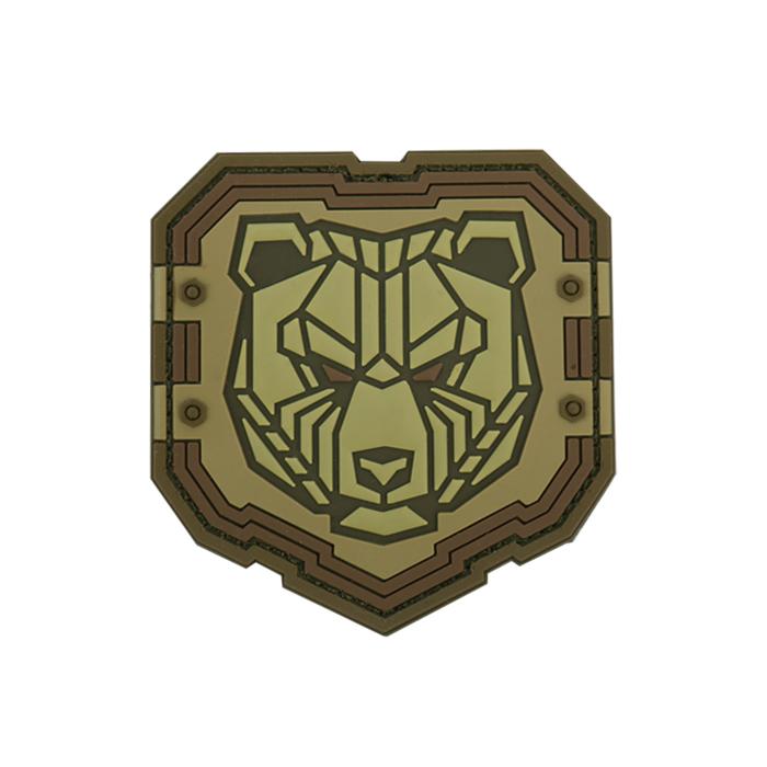 인더스트리얼 곰 PVC 패치 - Desert