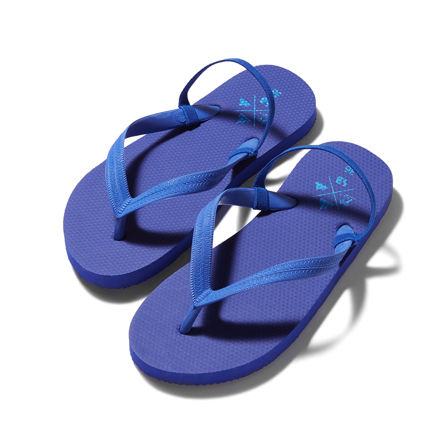 Back Strap Beach Sandal - Royal