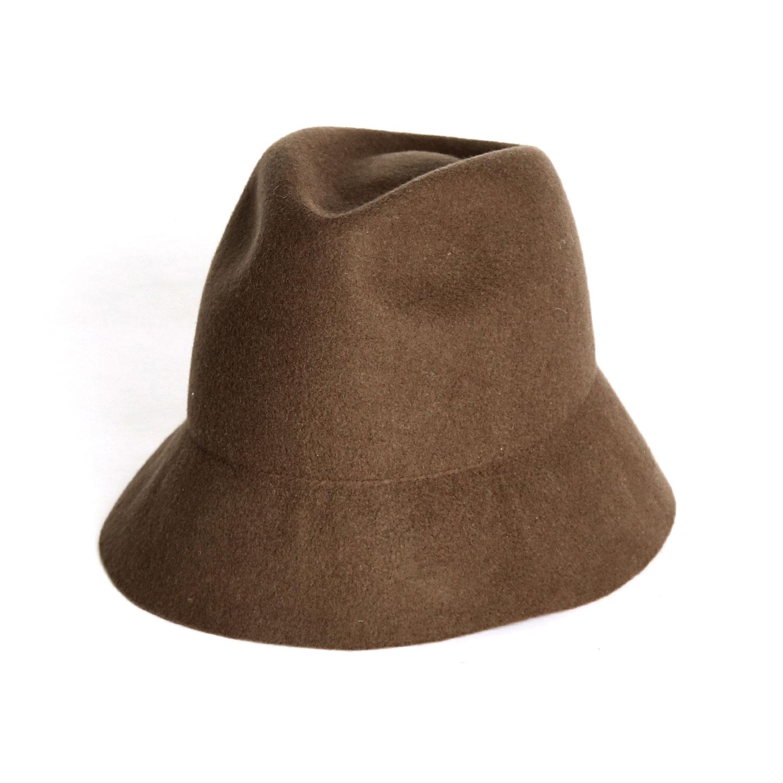 Soft Free Brim Felt Hat  - Moca