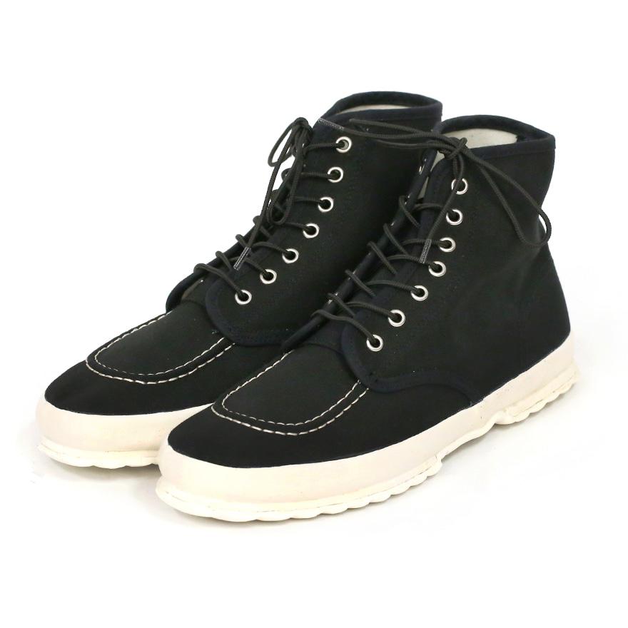 Classic Work Moc - toe Type - Black