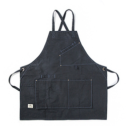 Work Apron 1005 - Waxed Navy