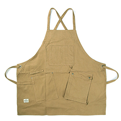 Work Apron 1006 - Canvas Brown