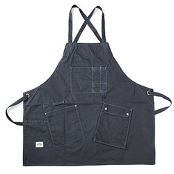 Work Apron 1006 - Waxed Navy