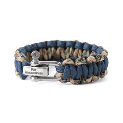 Cobra Bracelet - Navy Camo