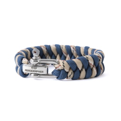 Fish Tail Bracelet - Navy Camo