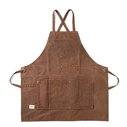Work Apron 1005 - Waxed Brown