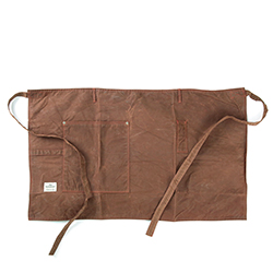 Work Waist Apron 1106 - Waxed Brown