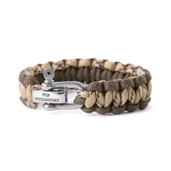 Cobra Bracelet - Brown Camo