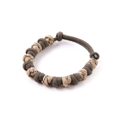 Love Tie Bracelet - Brown Camo