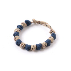 Love Tie Bracelet - Navy Camo