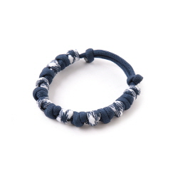Love Tie Bracelet - Navy White