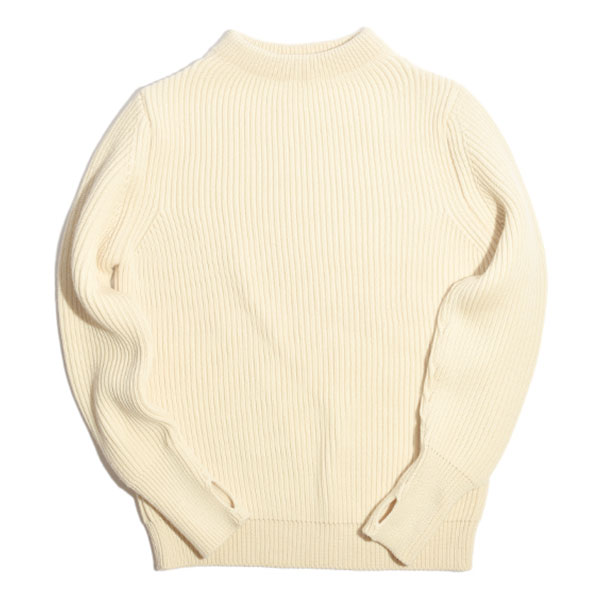 [진열상품] Navy Crewneck - Off-White