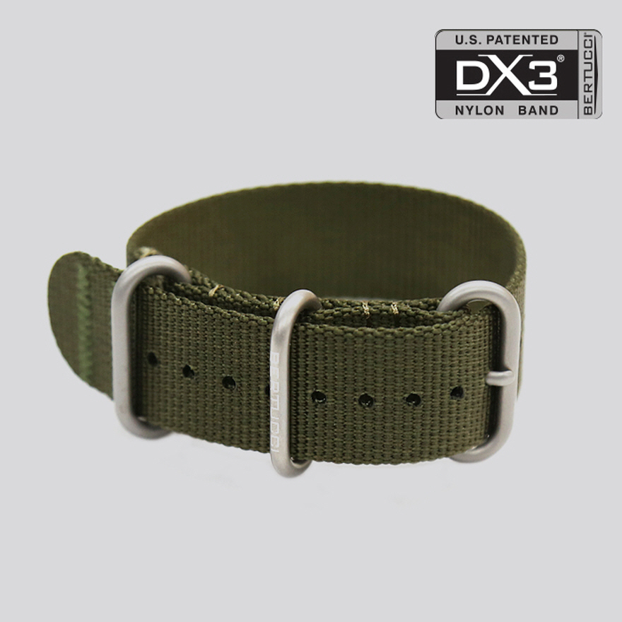 DX3 Nylon Band - #123 defender olive