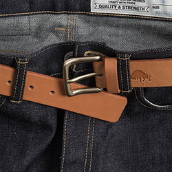 No.1 Belt  -  Golden tan