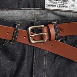 No.1 Belt  -  Cognac