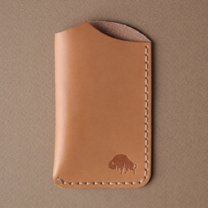 No.1 Wallet - Golden tan