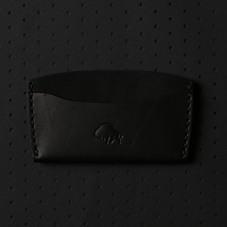 No.3 Wallet - Jet Black