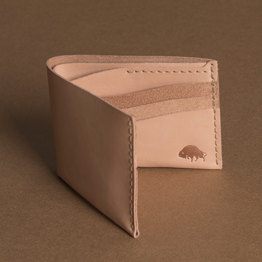 No.8 Wallet - Natural