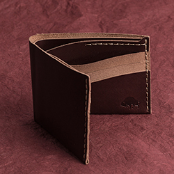 No.8 Wallet - Burgundy