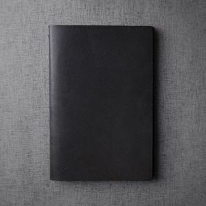 Large Notebook - Jet Black