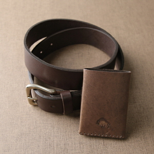 [SET] No.1 Brass Belt & No.2 Wallet