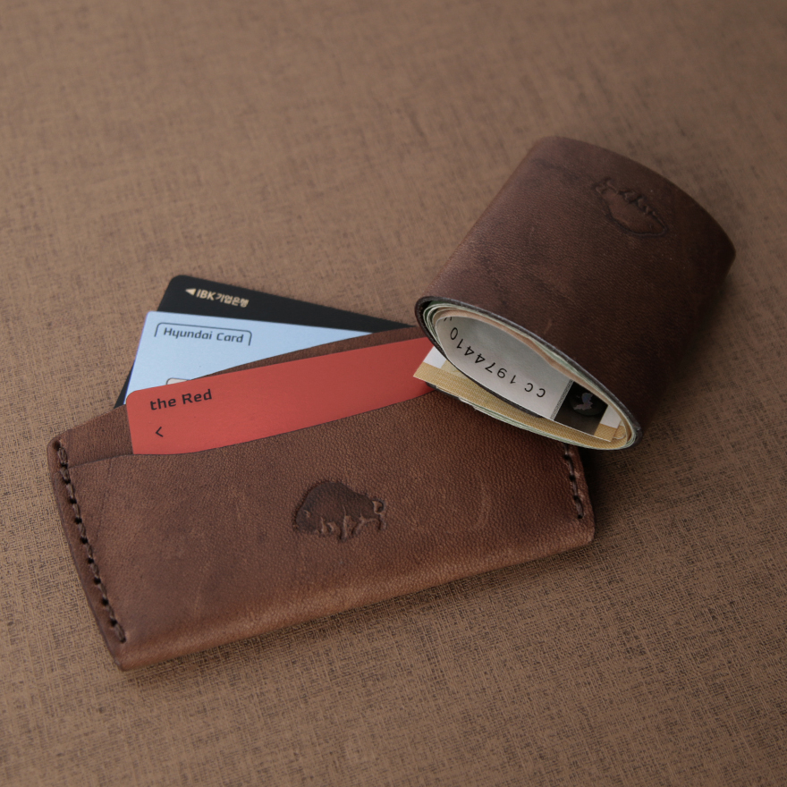 [SET] No.3 Wallet & Cash Fold