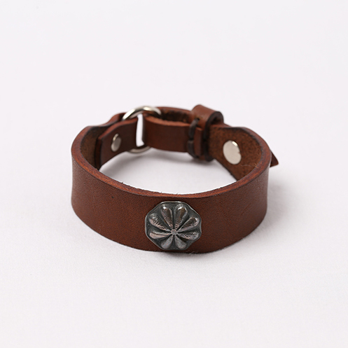 Concho Bracelet - Brown