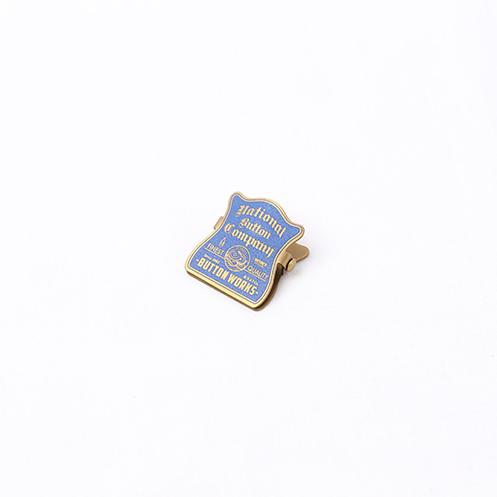 Brass Paper Mini Clip - Blue