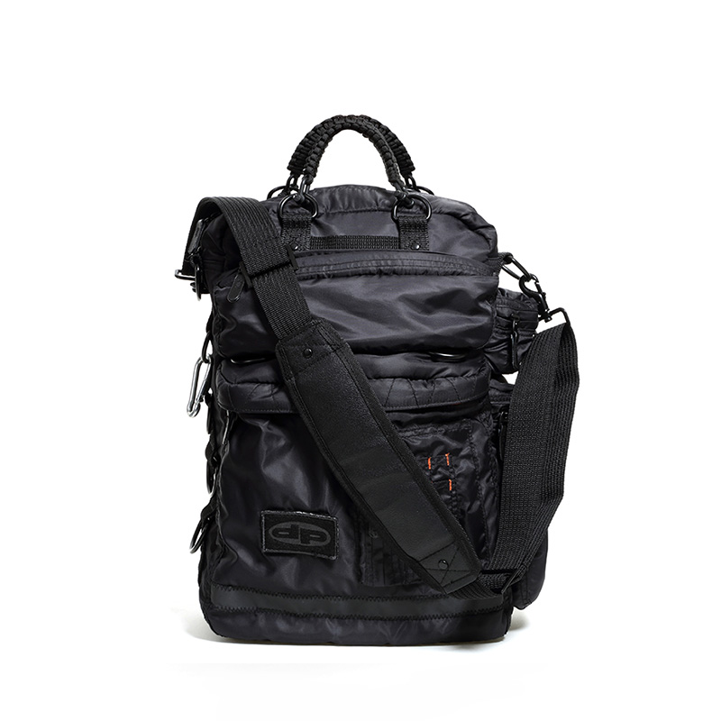 Techno Laptop Bag - Midnight Black