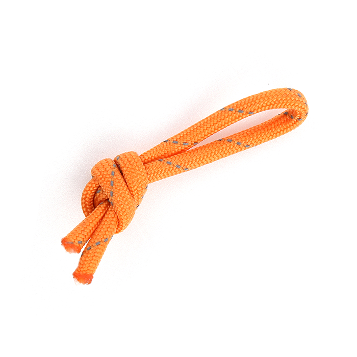Paracord Zipper Cord - Shiny Orange Yellow