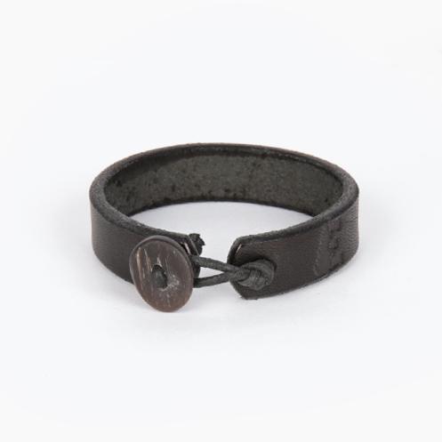 Deer Antler Bracelet - Black