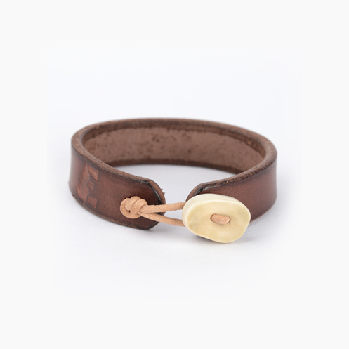 Deer Antler Bracelet - Brown