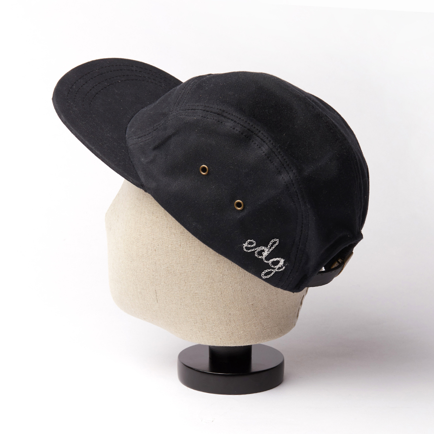 Waxed Camp Cap - Black