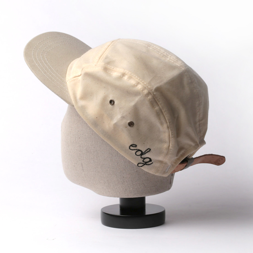 Waxed Camp Cap - Natural
