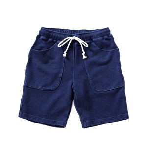 9oz Sweat Shorts - Indigo