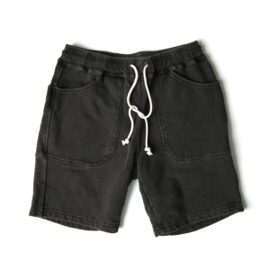 9oz Sweat Shorts - P-Black