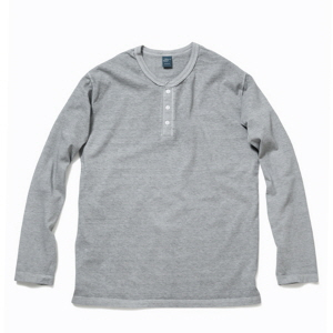 Henley Long T-Shirts - P-Ash