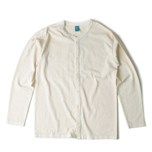 Crew T-Shirts Cardigan - P-Natural