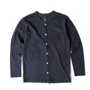 Crew T-Shirts Cardigan - P-Navy