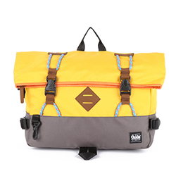 ANTOINE Cross Bag - Yellow/Grey