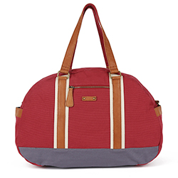BAYA Duffle Bag- Red/Blue