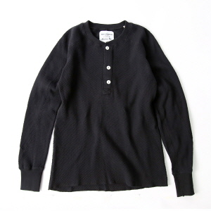 Heavy Thermal H/N Tee - Black