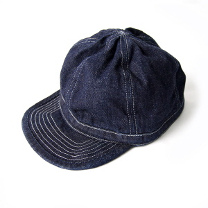 Denim Cap - Indigo