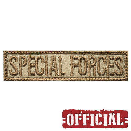 SPECIAL FORCES Typo