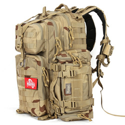 Super Falcon Full Molle Backpack - Desert Camo