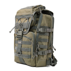 Harrier Laptop Backpack - Khaki Foliage
