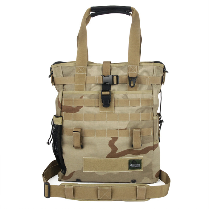 Black Kite Tote Bag - Desert Camo