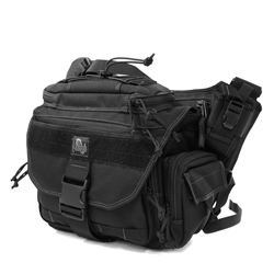 Roadrunner Messenger Bag - Black