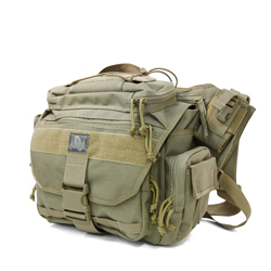 Roadrunner Messenger Bag - Khaki