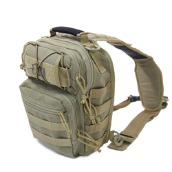 Jumbo Swallow Sling Bag - Khaki